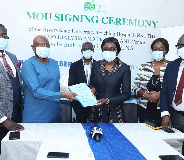 NLNG Donates N381m Renal Centre to RSUTH