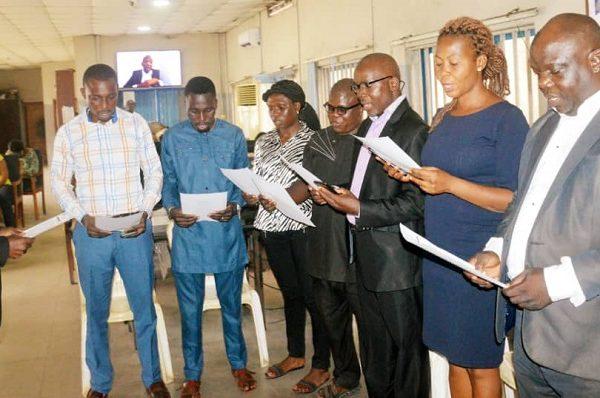 Lagos NUJ Chairman Inaugurates NAN NUJ Exco, Urges Selfless Service