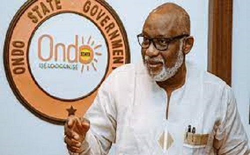 Akeredolu seeks NIMASA's support for Port in Ondo