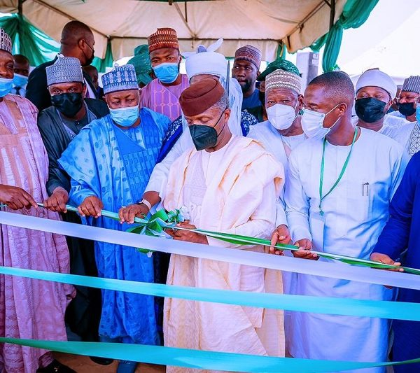 Osinbajo Commends NDPHC as FG Targets 5m Homes with Solar System