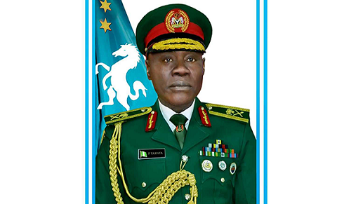 President Buhari Appoints Yahaya as New Chief of Army Staff