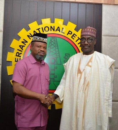 Kyari Receives NUJ National Executives at NNPC Towers